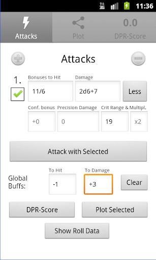 d20 Attack Calc Lite