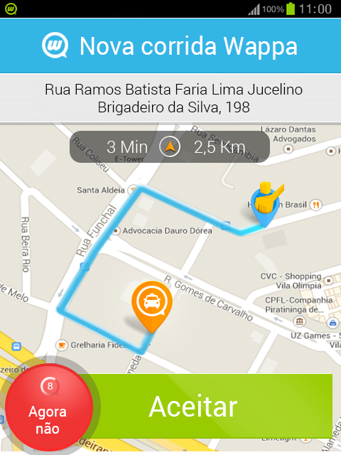 Wappa Taxista- screenshot