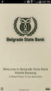 Belgrade State Bank Mobile - screenshot thumbnail