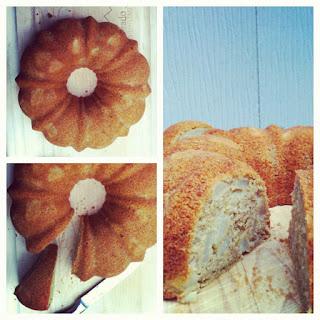 Pear and Cardamom Spiced Bundt Cake