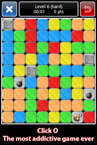 Click O - screenshot