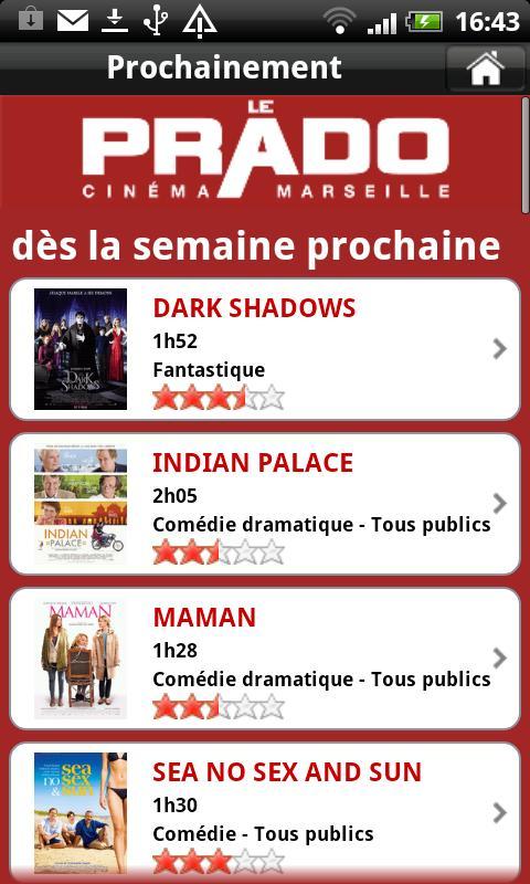 Cinéma Le Prado Marseille- screenshot
