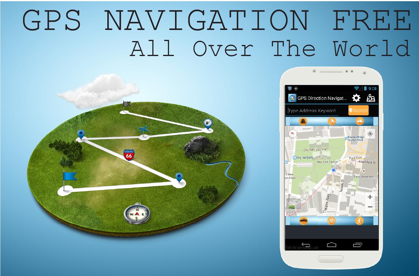 Gps навигатор gps для телефона