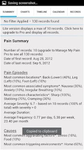 Manage My Pain Lite - screenshot thumbnail
