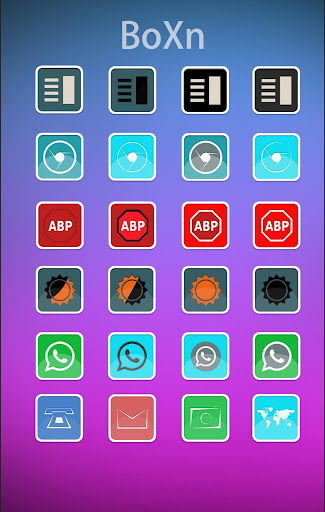 BoXn Icon Pack