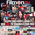 FilmOn Live TV & Record Free! icon