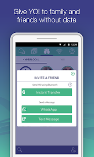 YO! - Chat & Share over WiFi - screenshot thumbnail