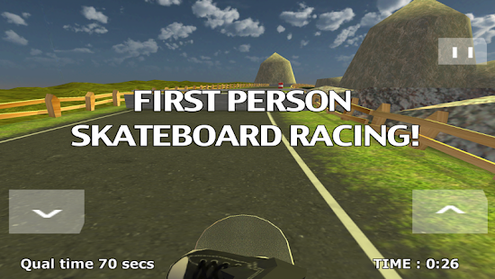 Skateboard Racing