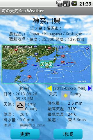海の天気 Sea Weather