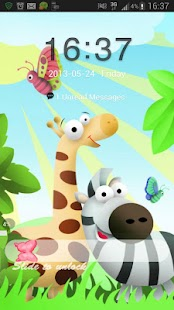 GO Locker Theme animals - screenshot thumbnail