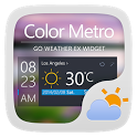 COLORMETRO THEME GO WEATHER EX icon