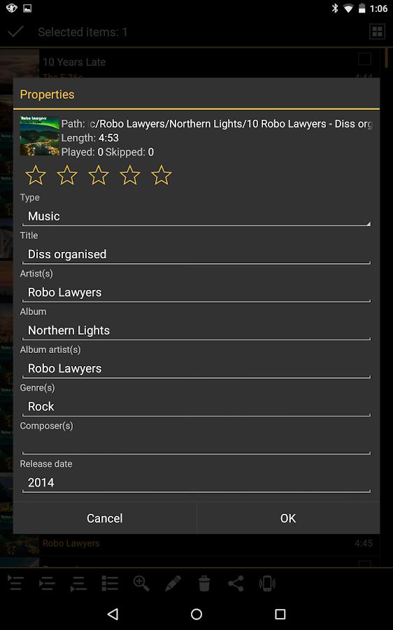 MediaMonkey Beta- screenshot