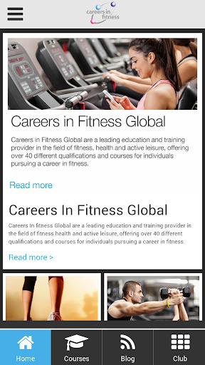 Careers in Fitness Global App