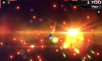 Screenshot of SCAWAR Arcade Space Shooter