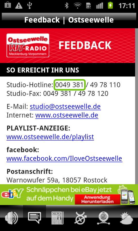 Ostseewelle - screenshot