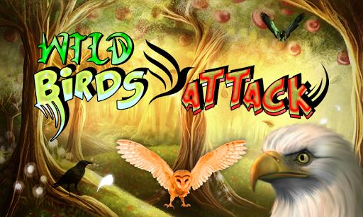 野生鸟类的攻击