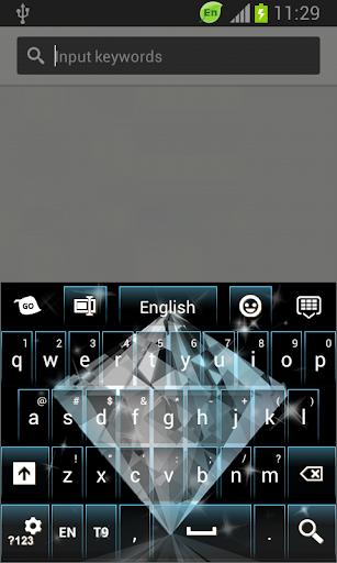 GO鍵盤鑽石主題