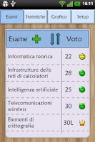 Screenshot of Esami Universitari