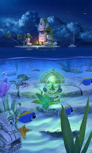 Ocean Aquarium 3D: Lost Temple- screenshot thumbnail