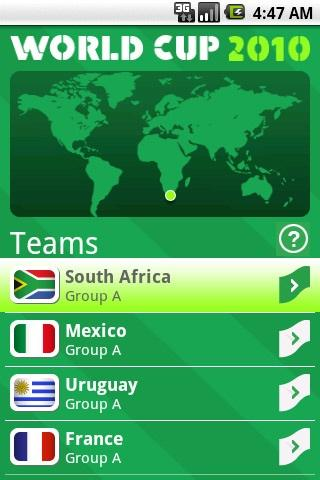 World Cup 2010 - Flying Flags - screenshot