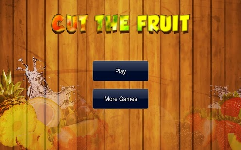 Cut The Fruit Free