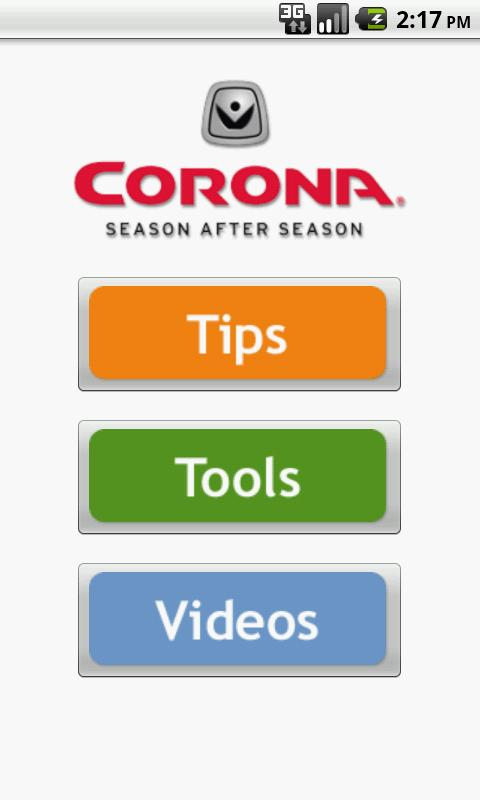 Corona Tools Garden App Android Apps on Google Play