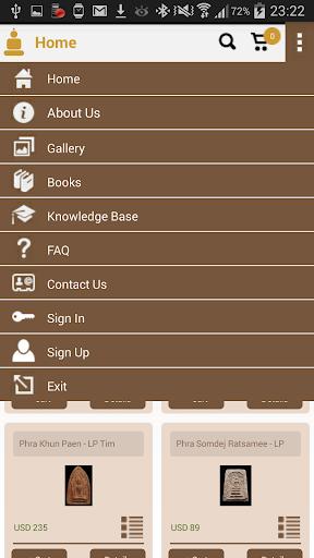 Thai Amulets Database Store