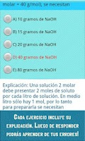 Screenshot of Ayuda PSU Química