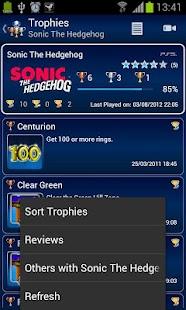 PS3 Trophies Lite - screenshot thumbnail