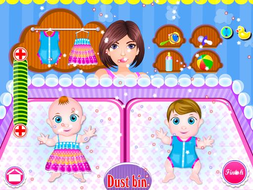 Newborn twins girls games 8.0.2 screenshots 8