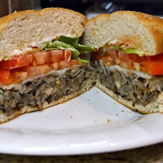 Mushroom Veggie Burgers.