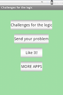 Challenges for the logic. - screenshot thumbnail