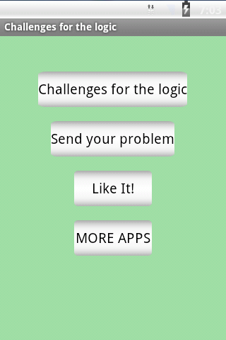 Challenges for the logic. - screenshot