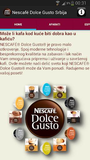 Nescafé Dolce Gusto Srbija