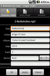 AudioTagger - Tag Music - screenshot thumbnail