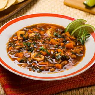 Vegetable & Chicken Stew.