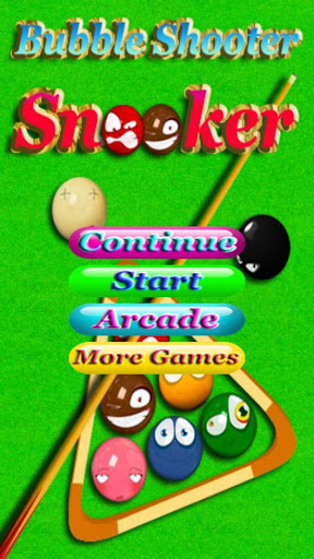 Bubble Shooter Snooker