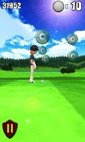 Screenshot of SwingShot Tee Off