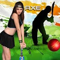 Axe Angel Cricket Theme logo