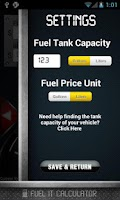 Screenshot of Fuel It