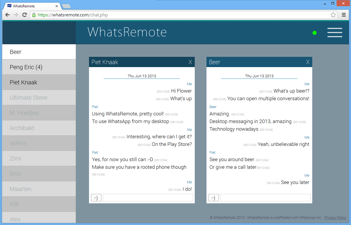 WhatRemote ★ ROOT ONLY: screenshot