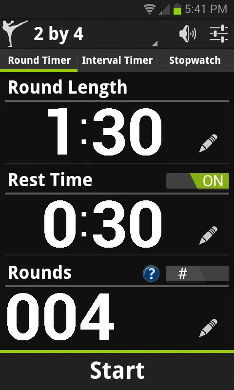 Big Will's Workout Timer Demo - screenshot