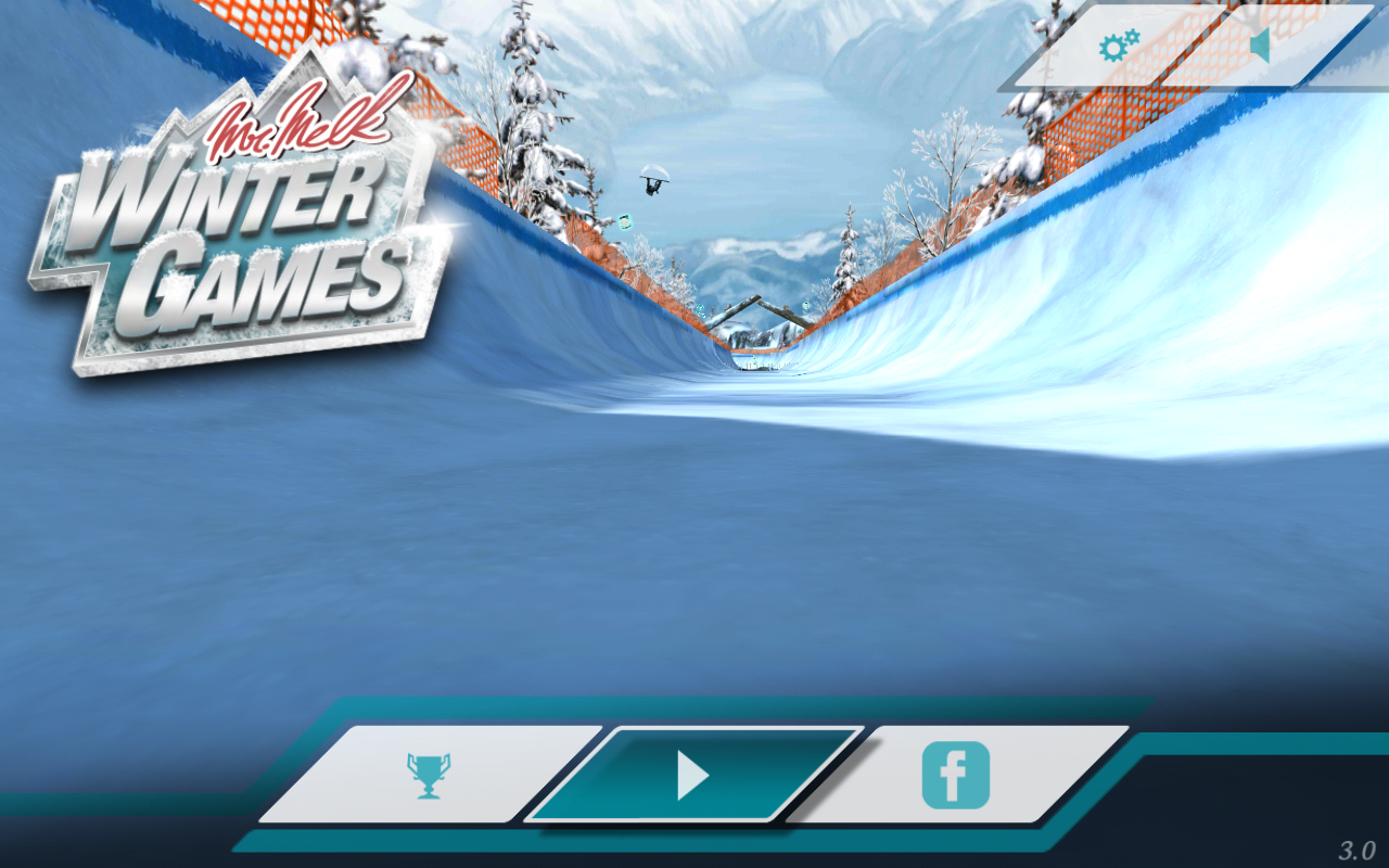 Mr. Melk Winter Games - screenshot