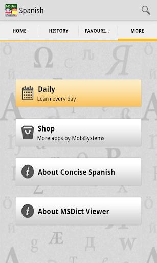Dictionary EnglishSpanish TR