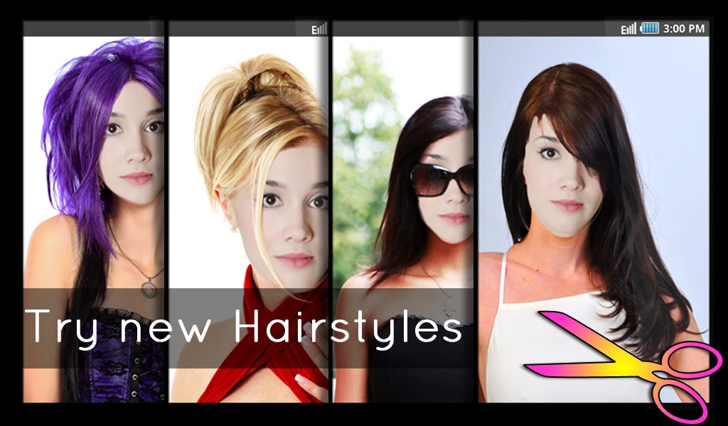 Hairstyles - Fun and Fashion- screenshot