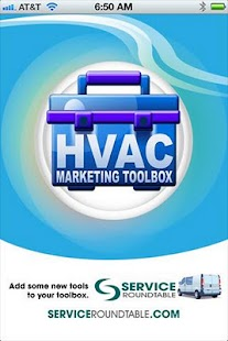 HVAC Marketing Toolbox- screenshot thumbnail
