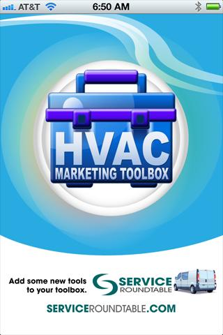 HVAC Marketing Toolbox- screenshot