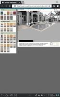 Screenshot of Travertine Mart Patio Designer