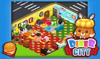 Screenshot of Diner City