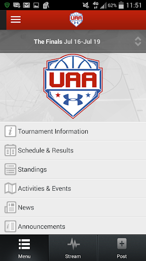UAA Finals